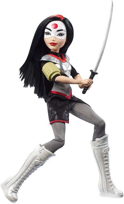 DC Super Hero Girls Katana Action Dol
