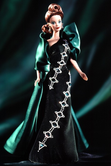 Emerald Embers Barbie Doll