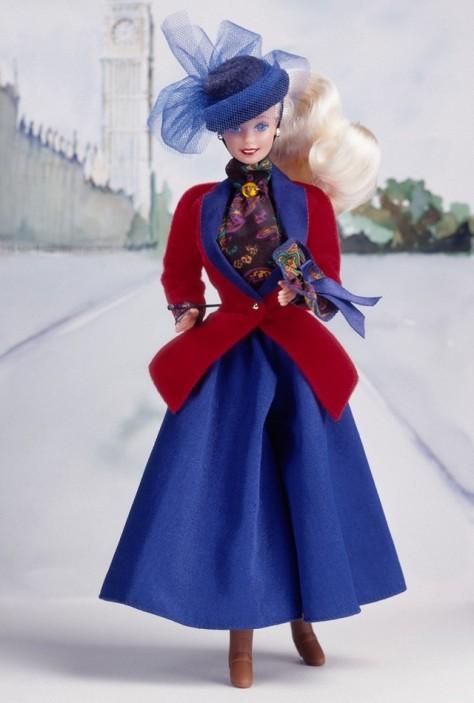 English Barbie Doll