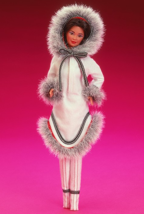 Eskimo Barbie Doll 2nd Edition
