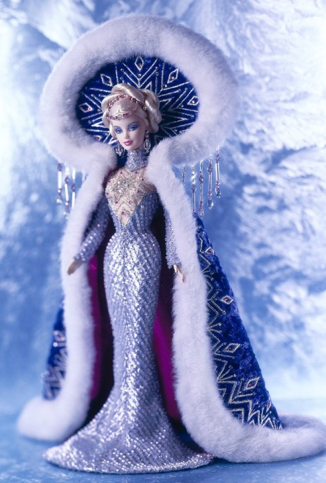 Fantasy Goddess of the Arctic Barbie Doll