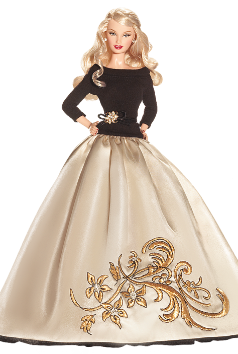 Festive and Fabulous Barbie Doll