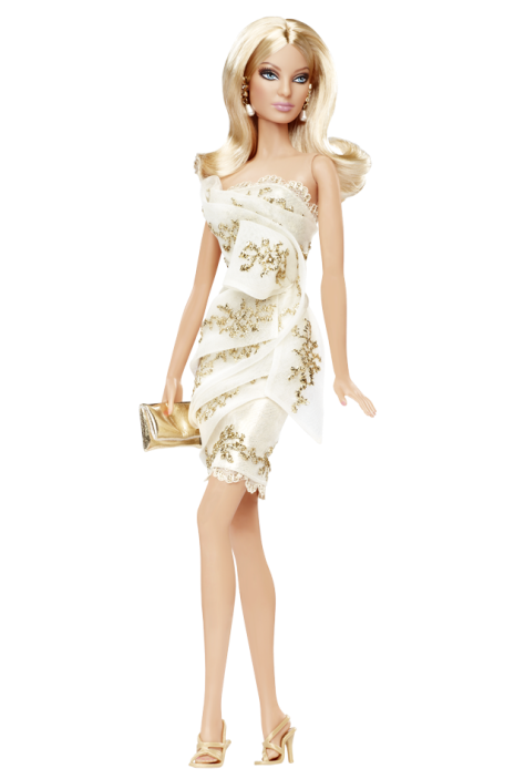 Glimmer of Gold Barbie Doll