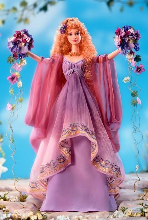 Goddess of Spring Barbie Doll