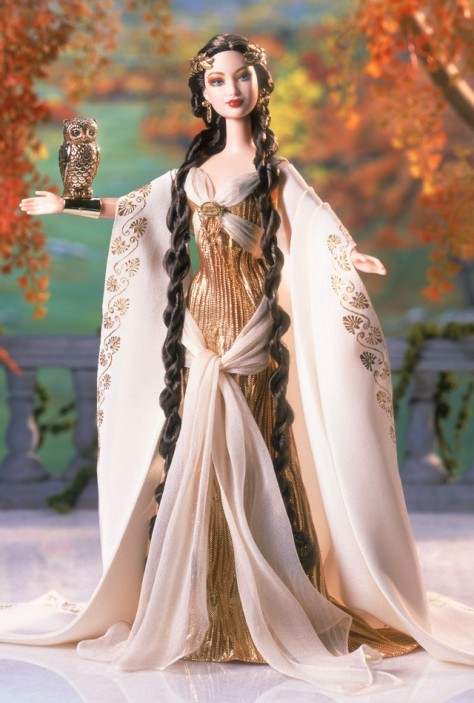 Goddess of Wisdom Barbie Doll
