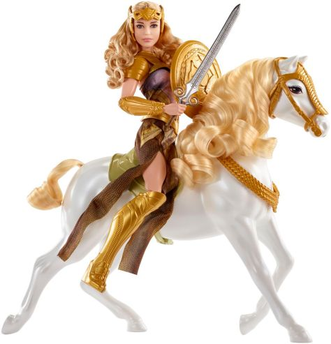 Hippolyta blonde horse