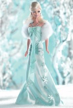 I Dream of Winter Barbie Doll