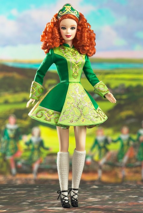 Irish Dance Barbie Doll