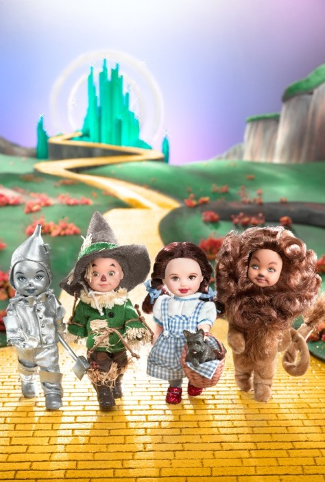 Kelly Doll and Friends — The Wizard of Oz Giftset