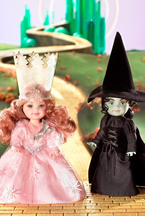 Kelly Doll as The Witches from The Wizard of Oz