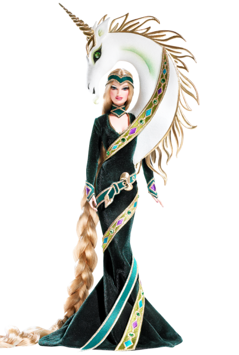 Lady of the Unicorns Barbie Doll by Bob Mackie