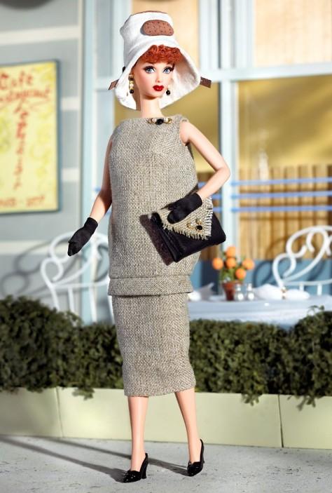 Lucy Gets A Paris Gown