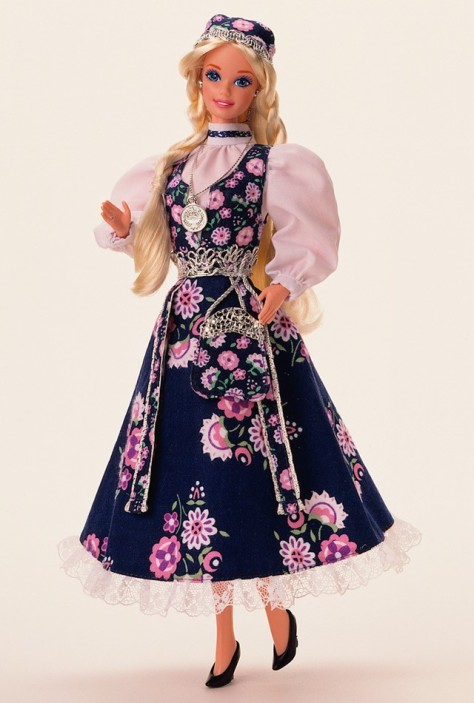 Norwegian Barbie Doll