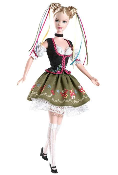 Oktoberfest Barbie Doll