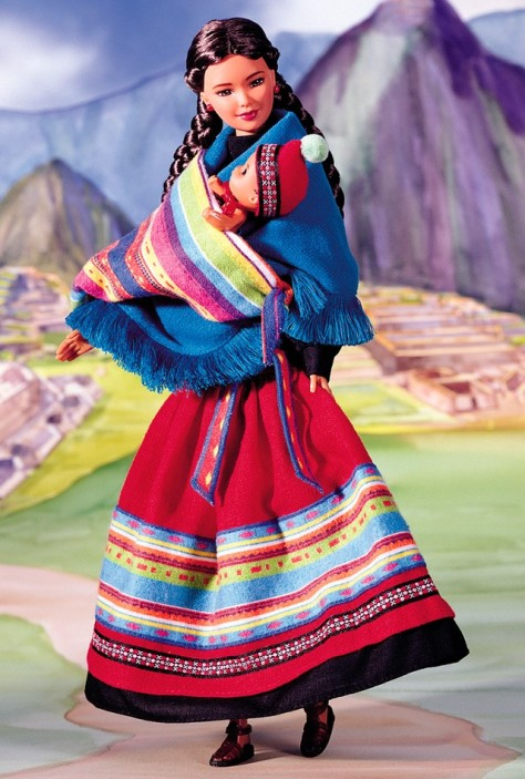 Peruvian Barbie Doll