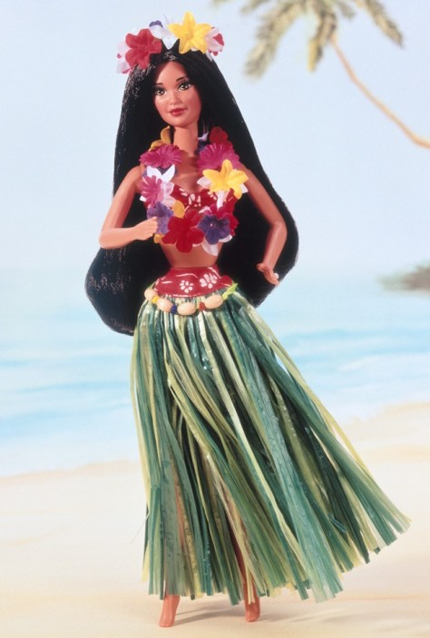 Polynesian Barbie Doll
