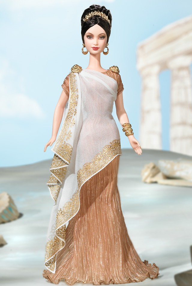 Barbie Dolls Of The World Princess Princess of Ancient Greece