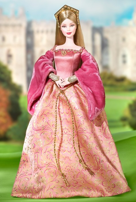 Princess of England Barbie Doll