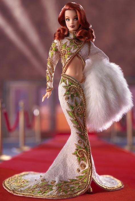 Radiant Redhead Barbie Doll