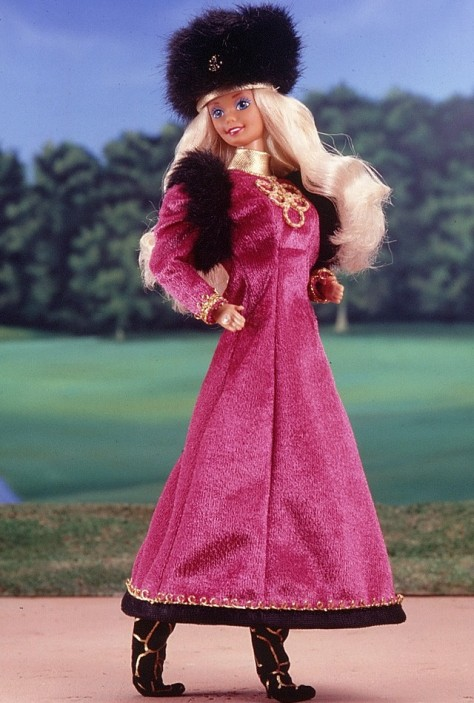 Russian Barbie Doll 1st Edition