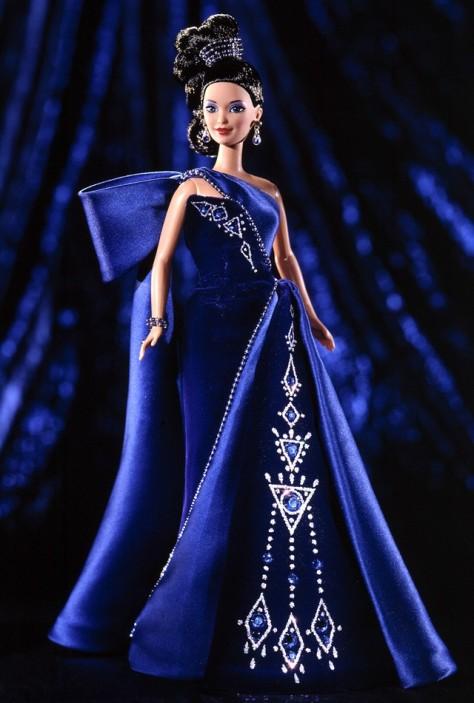 Sapphire Splendor Barbie Doll