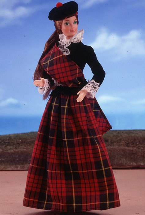 Scottish Barbie Doll 1st Edition