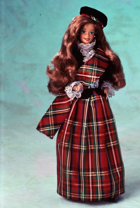 Scottish Barbie Doll 2nd Edition