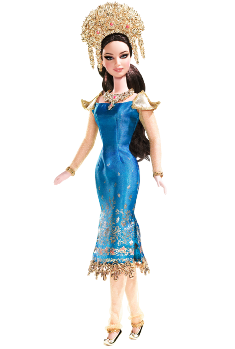 Sumatra-Indonesia Barbie Doll