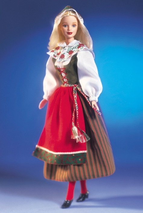 Swedish Barbie Doll