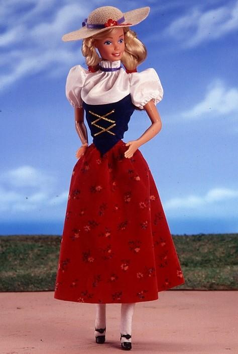 Swiss Barbie Doll
