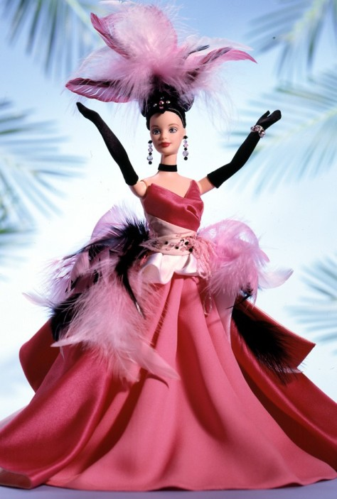The Flamingo Barbie Doll