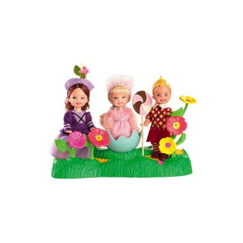 The Wizard of Oz Munchkins Kelly Dolls and Tommy Doll Giftset