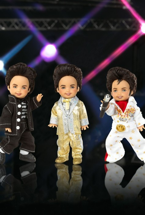 Tommy Doll as Elvis Giftset