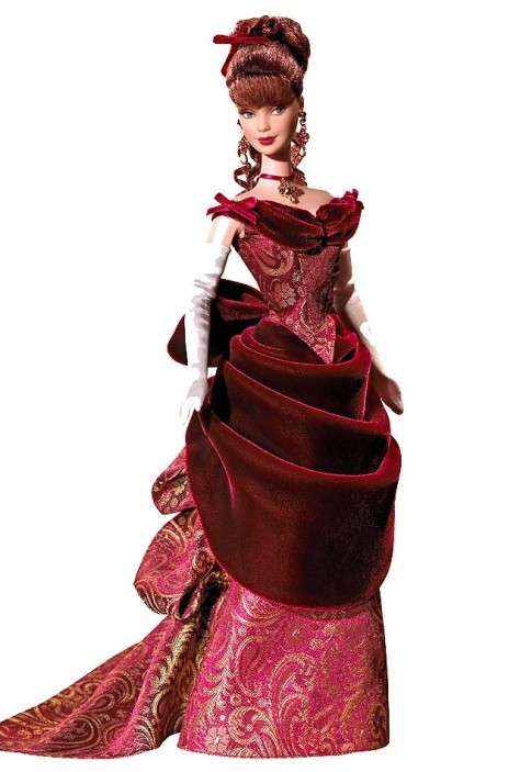 Victorian Holiday Barbie Doll
