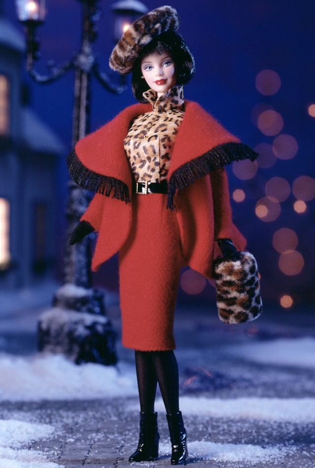 Winter in Montreal Barbie Doll
