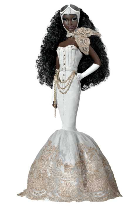 Byron Lars Charmaine King Barbie Doll