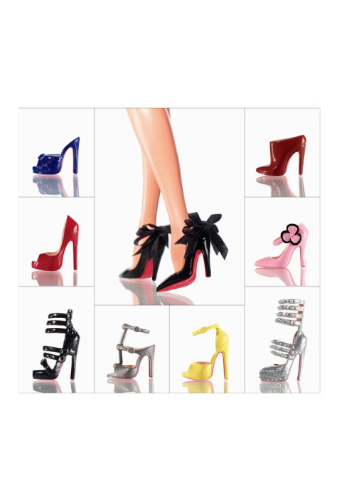 Christian Louboutin Barbie Shoe Collection