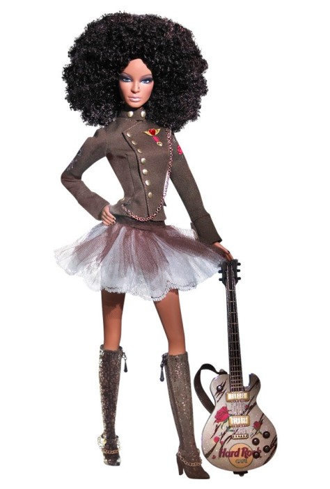 Hard Rock Barbie Doll