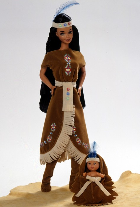 American Indian Barbie Doll