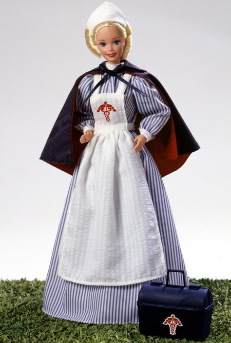 Civil War Nurse Barbie Doll