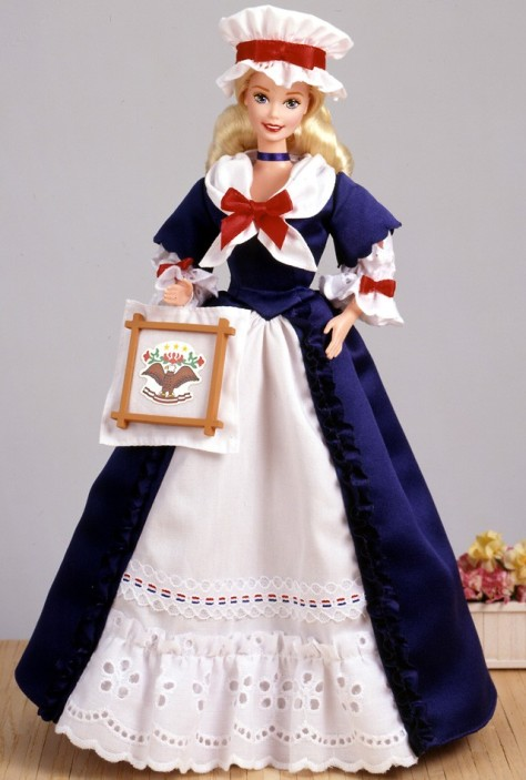 Colonial Barbie Doll