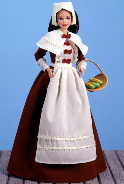 Pilgrim Barbie Doll