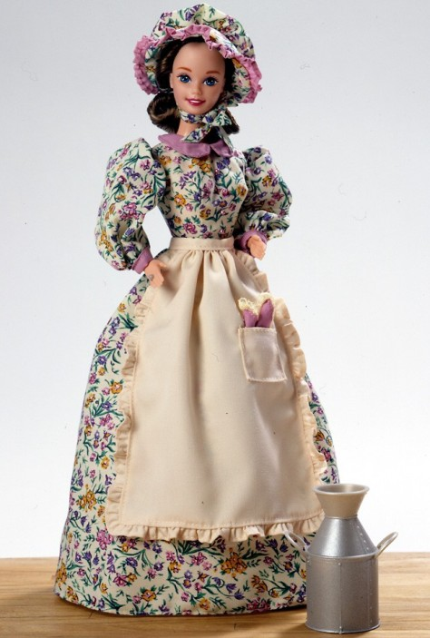 Pioneer Shopkeeper Barbie Doll
