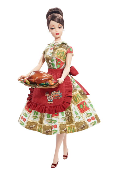 Thanksgiving Feast Barbie Doll