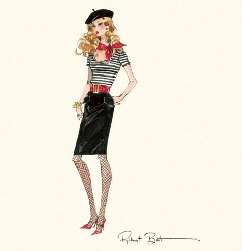 The Artist Barbie Doll