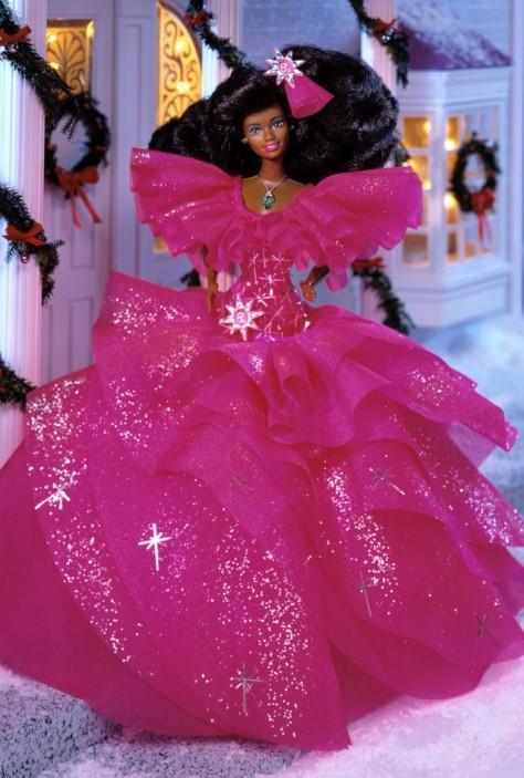 1990 Happy Holidays Barbie Doll
