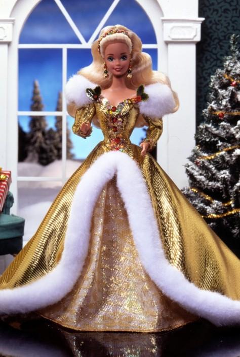 1994 Happy Holidays Barbie Doll