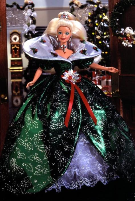 1995 Happy Holidays Barbie Doll