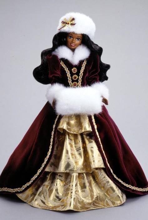 1996 Happy Holidays Barbie Doll (AA)