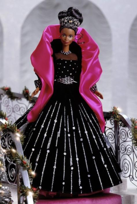 1998 Happy Holidays Barbie Doll (AA)